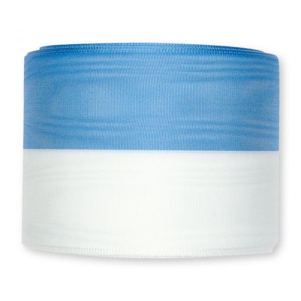 Moiréband blue/white (BL/W) Hauptbild Detail