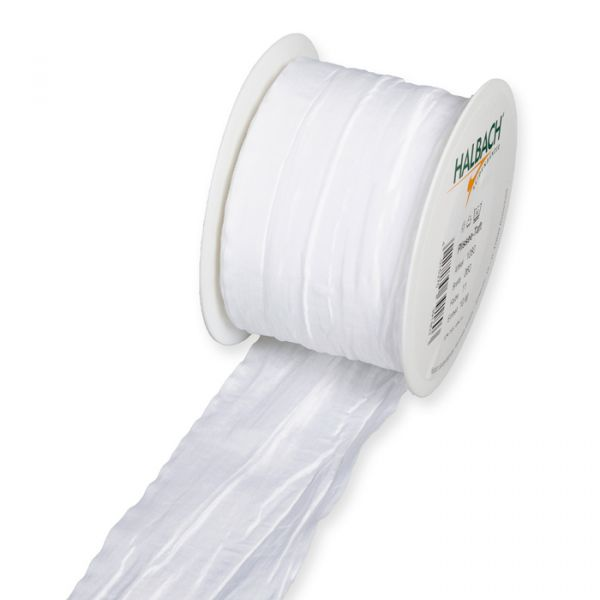 Plissee-Taftband/-stoff white Hauptbild Listing