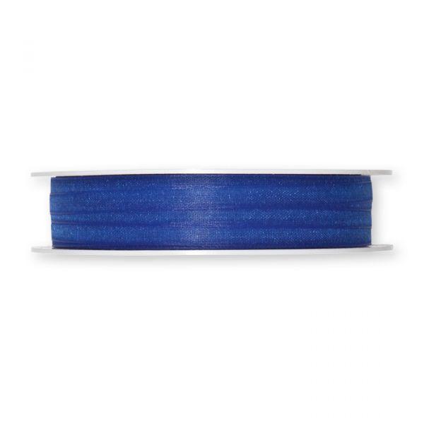 Organzaband blue Hauptbild Detail