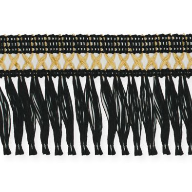 Kreuz-Franse black/gold Hauptbild Detail
