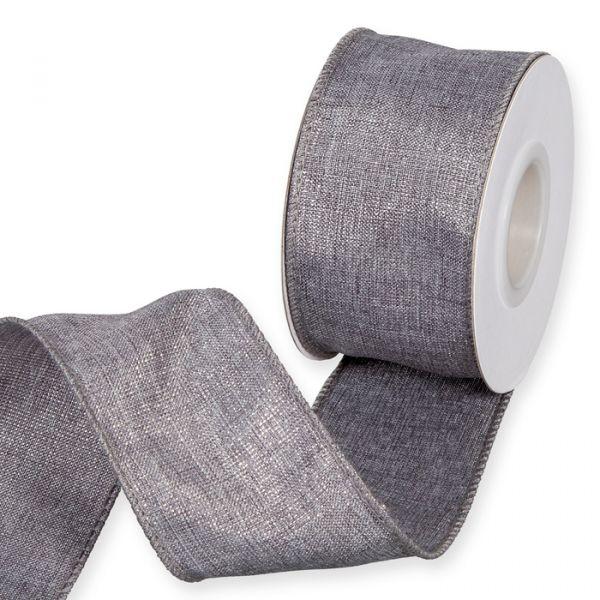 "Dekorationsband ""Glitter"" grey/silver Hauptbild Listing"