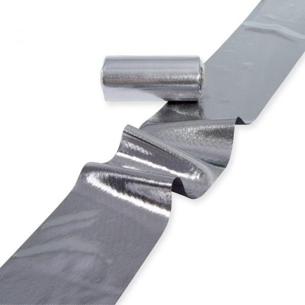 "Dekorationsband/-stoff ""Lamé"" silver Hauptbild Listing"