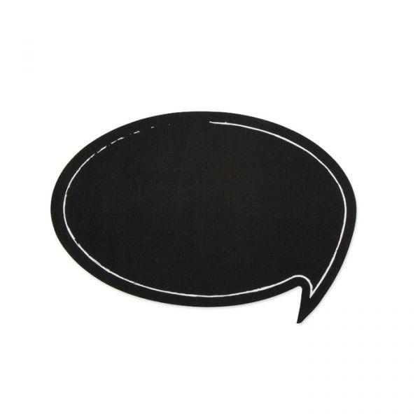 "Tafelstoff Sticker ""Sprechblase"" black Hauptbild Detail"