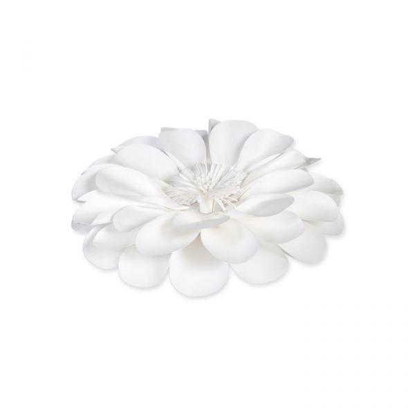 Papier-Blüte white Hauptbild Listing