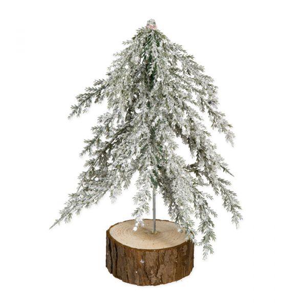 """Deko-Aufsteller """"Baum"""" green/white glitter Hauptbild Detail"""