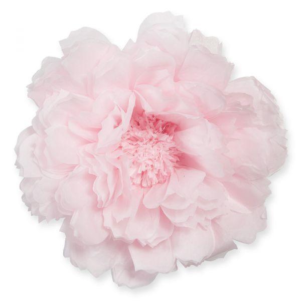 Seidenpapier-Blüte light rose Hauptbild Detail