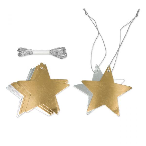 19742-000-1 gold/silver - star (1) Hauptbild Detail