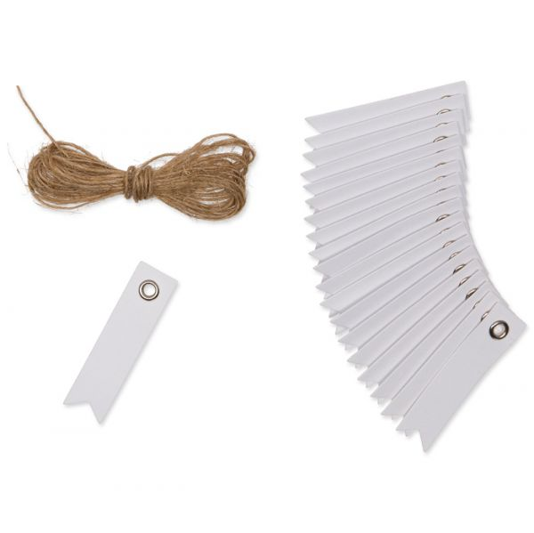Mini-Papier-Anhänger white Hauptbild Detail