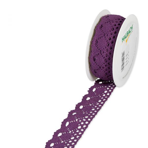 Häkelspitze dusky violet Hauptbild Listing