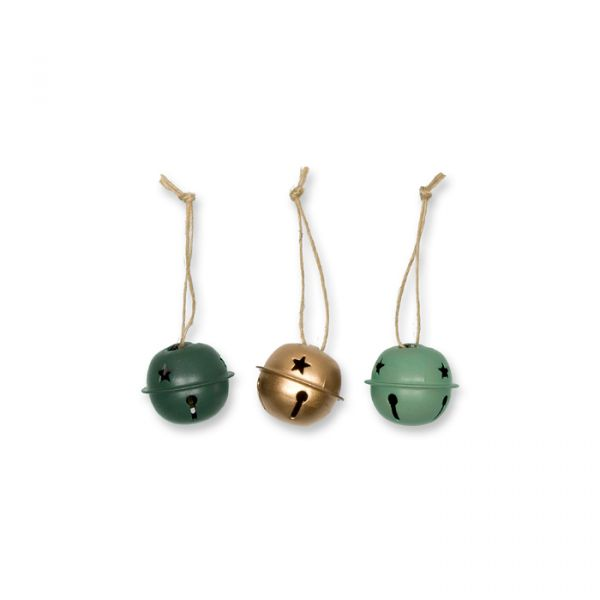 Metall-Glöckchen dark green/jade/gold Hauptbild Detail