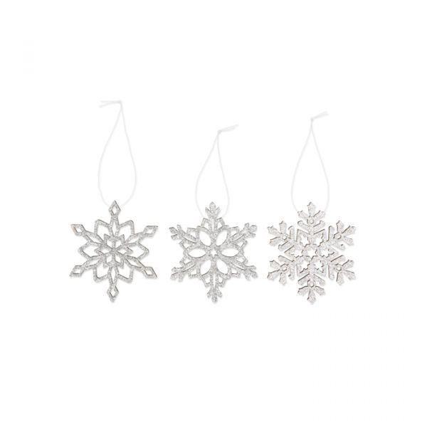 Glitter-Deko silver - ice crystal Hauptbild Detail