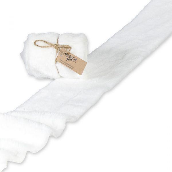 Kunstfell-Band white Hauptbild Listing