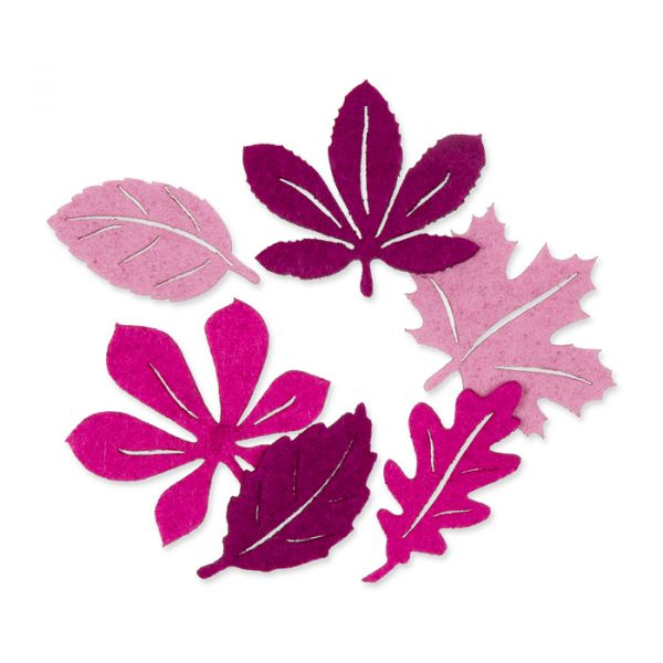"Filzsortiment ""Herbstblätter"" orchid/erica/berry Hauptbild Listing"