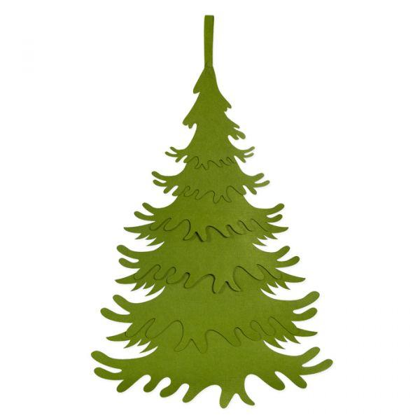 Tannenbaum / Adventskalender aus Filz green Hauptbild Detail