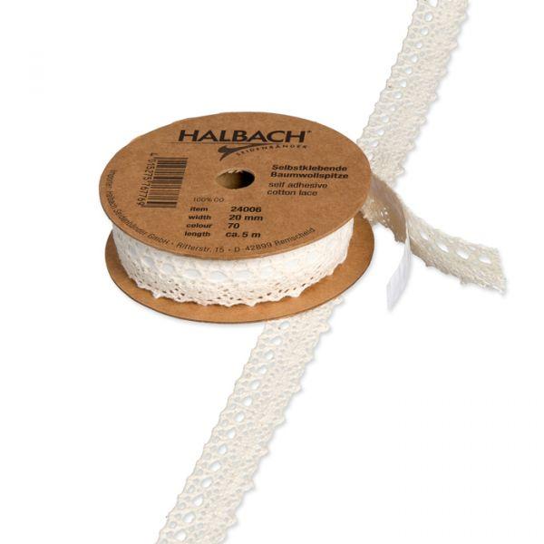 Selbstklebende Baumwoll-Spitze cream Hauptbild Listing