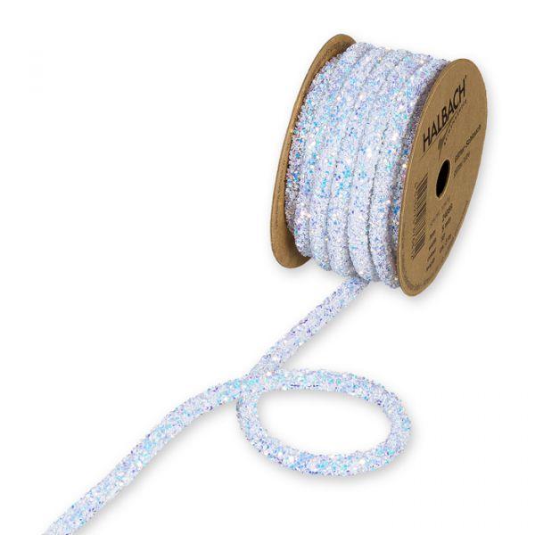 Glitter-Schlauch iridescent white Hauptbild Listing