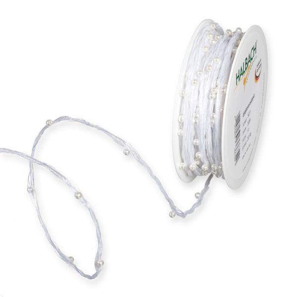 Organza-Perlenkordel white Hauptbild Listing
