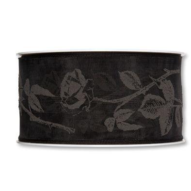 Trauerflor black/black Hauptbild Detail