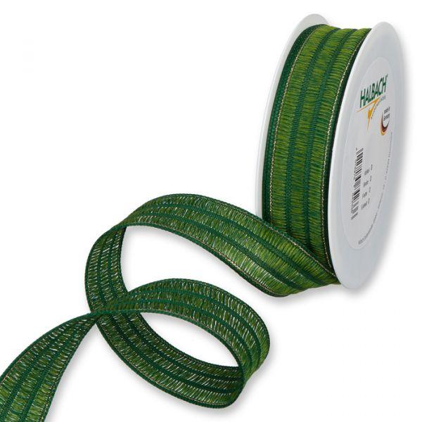 Dekorationsband dark green/gold Hauptbild Listing