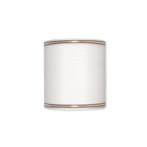 Moiréband / 211 weiß white Hauptbild Detail