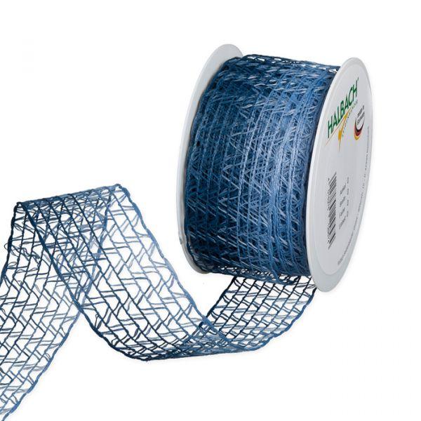 Stretch-Gitterband dusky blue/blue Hauptbild Listing