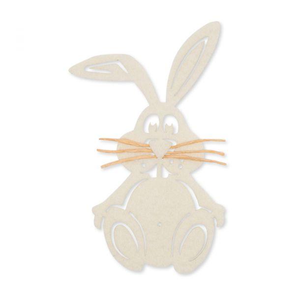 Filz-Hase cream Hauptbild Detail