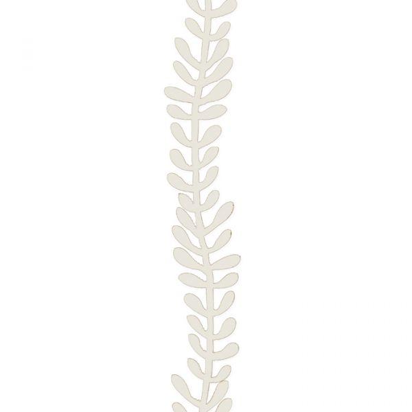 """Papier-Girlande """"Blätter""""/""""Blüten"""" off-white - leaves Hauptbild Detail"""