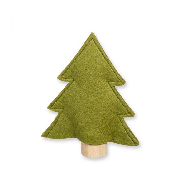 """Filz-Aufsteller """"Baum"""" olive green Hauptbild Detail"""