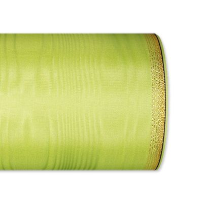 Moiréband / farbig light green Hauptbild Detail