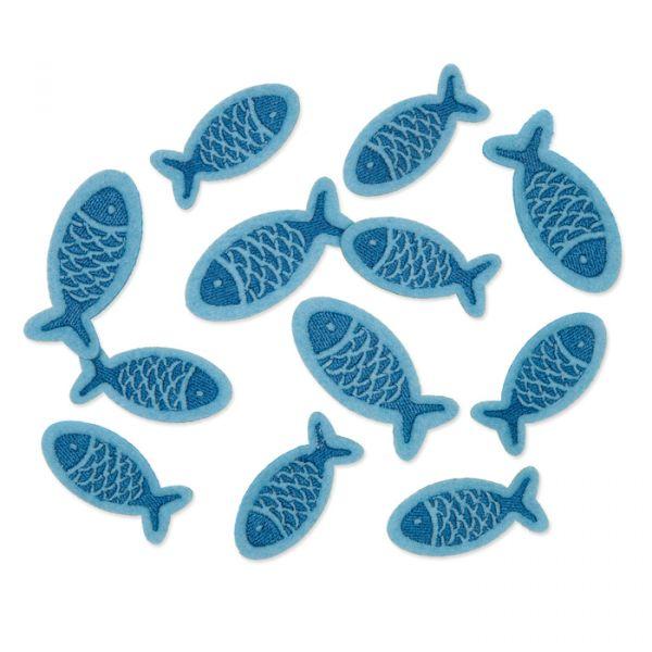 "Filzsortiment ""Fische"" blue/dark blue Hauptbild Listing"
