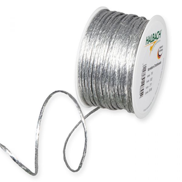 Metallic-Papierkordel silver Hauptbild Listing