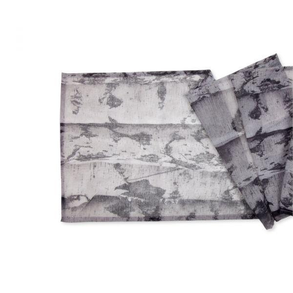 """Tischläufer mit Digitaldruck """"Birken"""" birch Hauptbild Detail"""