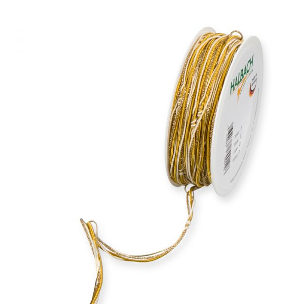 Materialmix-Kordel honey yellow/gold Hauptbild Listing