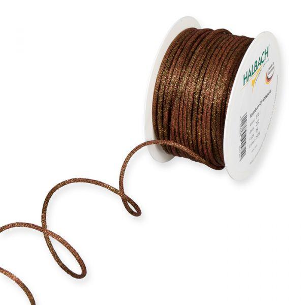 Lurex-Drahtgimpe rosewood/brown Hauptbild Listing