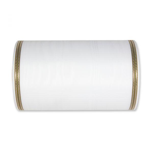 Moiréband white/gold Hauptbild Detail
