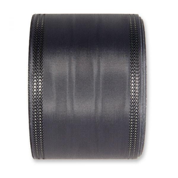 Moiréband - farbig dark grey/silver Hauptbild Detail