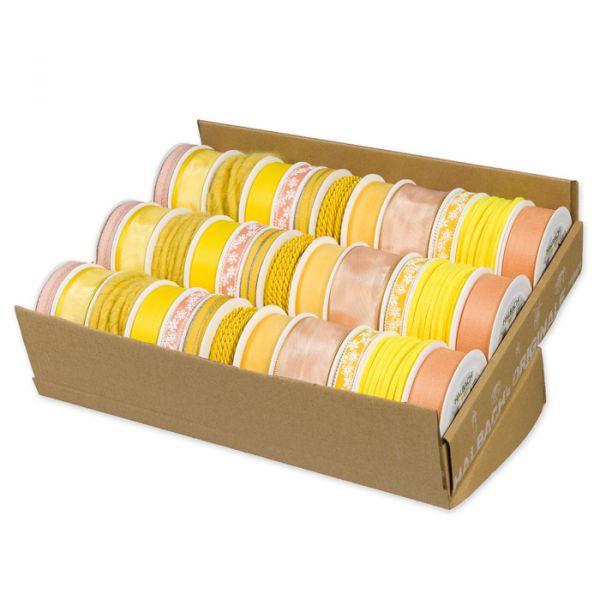 Set Gelb-Apricot 12 x 3 Rollen yellow/apricot Hauptbild Detail